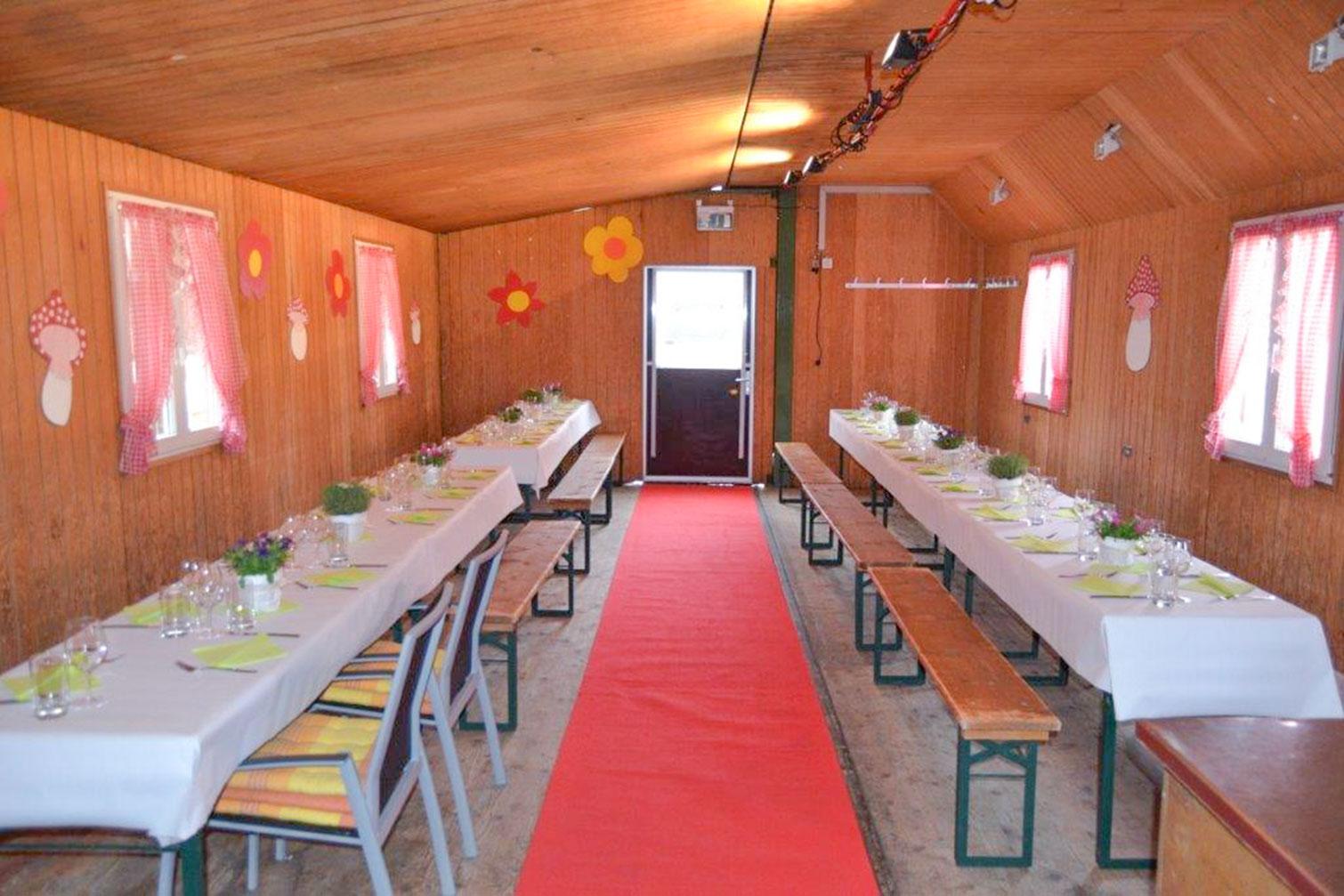 mobile festhütte